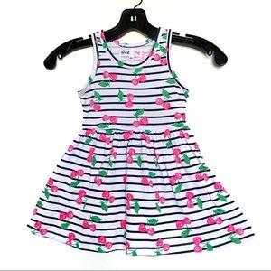 Girls Cherry summer Dress 2T